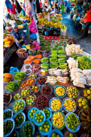 Thursday Market & Dusun Cultural Experience